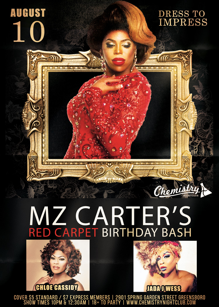 Mz Carters Birthday Aug 10