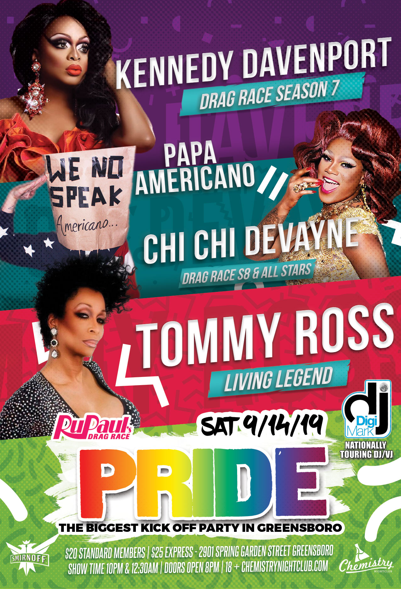 Pride Sunday 2019 Chemitry Nightclub