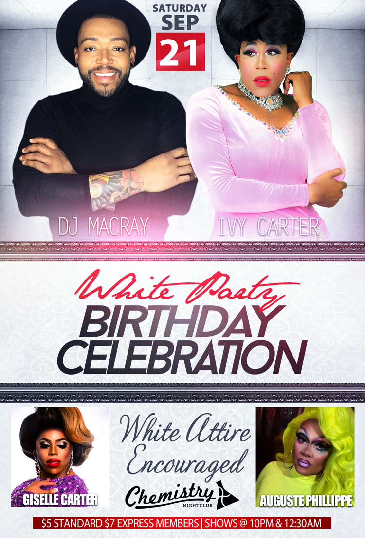White Party Macray and Ivy Sept 21