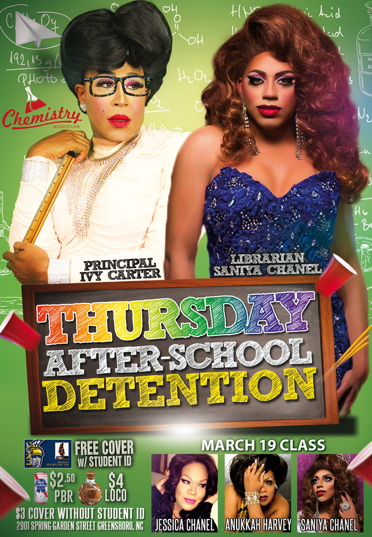 Thursday Afterschool Detention March 19
